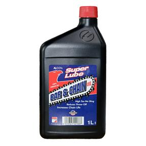 ALCO Superlube Bar & Chain oil - 1 Litre Increases Chain Life, reduces friction & prevents corosion.