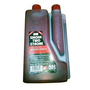 ALCO Smokeless 2-Stroke Oil - No Smoke Two Stroke Semi-Synthetic Oil 1 litre Squeeze Bottle. 1:50 mix