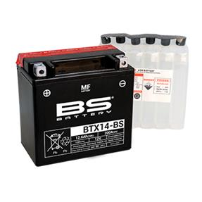BS BATTERY BTX14-BS 12v 12ah
