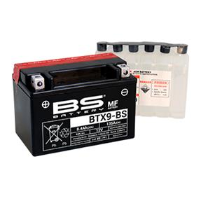 BS BATTERY BTX9-BS 12v 8ah