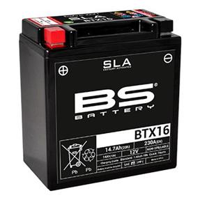 BS BATTERY SLA BTX16 (FA) 12v 14ah