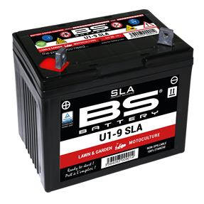 BS BATTERY SLA U1-9 12v 28ah L/H+