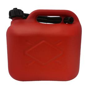 5LTR FUEL CAN RED (Plastic)
